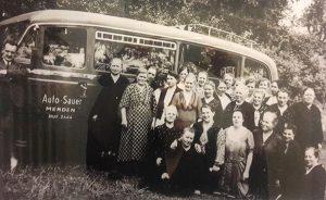 Sauer Menden - Jungfernfahrt 1935 zur Wartburg nach Eisenach