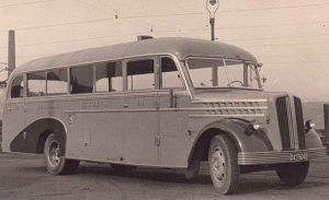 Sauer Menden - Erster MVG-Bus 1949