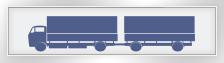 Waschanalge: LKW unter 7,5 t mit Anhänger