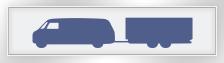 Waschanalge: Transporter mit Anhänger